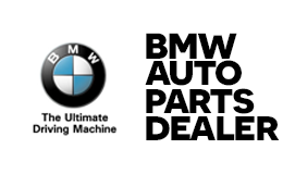 bmw auto parts dealer logo